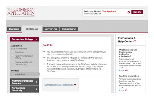 Learning Machine and the Common Application Renew Partnership on Admissions Portfolios