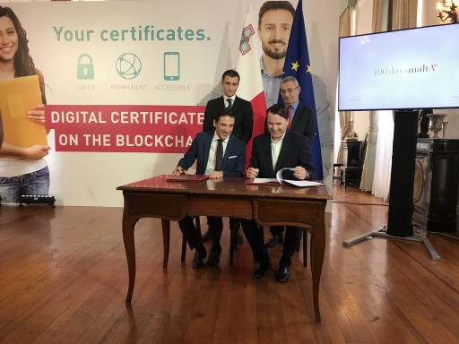 Government of Malta Launches Learning Machine's Blockchain Records Platform